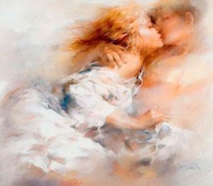 В любовных отношениях мужчины более чувствительны, чем женщины